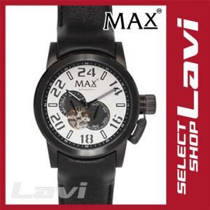 MAX マックス 腕時計  国内正規商品 MAX528 47mm Big Face ブラック ブラック オートマティック ウォッチ 国内正規商品 ラッピング無料|store-jck