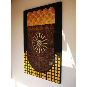 アジアンアート  オリエンタルモダン 【タイペイントアート 120×80】絵画 |store-monsoon