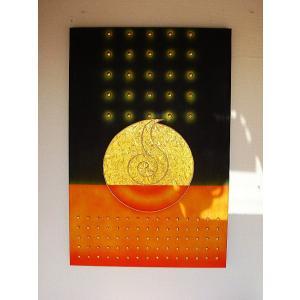 アジアン アート オリエンタルモダン タイペイントアート 120×80 絵画 店舗ディスプレイ用 アートパネル|store-monsoon|02