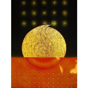 アジアン アート オリエンタルモダン タイペイントアート 120×80 絵画 店舗ディスプレイ用 アートパネル|store-monsoon|03