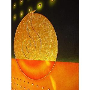 アジアン アート オリエンタルモダン タイペイントアート 120×80 絵画 店舗ディスプレイ用 アートパネル|store-monsoon|04