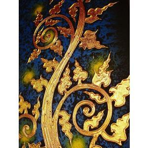 アジアンアート オリエンタルモダン絵画 アートフレーム 壁飾り  タイアート|store-monsoon|03
