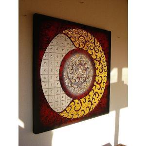 アジアンアート オリエンタルモダン絵画 アートフレーム 壁飾り  タイアート store-monsoon