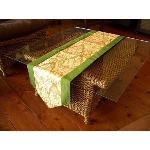 テーブルランナー テーブルセンター テーブルクロス アジアン雑貨  タイシルク  敷物 壁掛け タペストリー 送料無料 store-monsoon