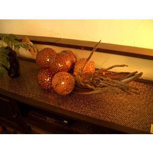 アジアンインテリア アジアン雑貨 エスニックインテリア 【アジアン 天然ココナッツランプ】|store-monsoon