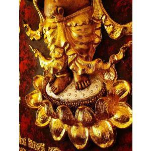 ガネーシャ インド エスニック アジアンアート オリエンタルモダン絵画 アートフレーム 壁飾り  タイアート|store-monsoon|07