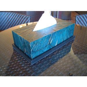 アジアンインテリア  アジアン雑貨 ■ロータスリーフ ティッシュケース■ティッシュボックス ティッシュBOX|store-monsoon