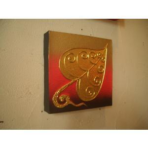アジアンアート 【ペイントアートフレーム】タイオリエンタルモダン絵画  壁掛け ホテル サロン リゾート |store-monsoon