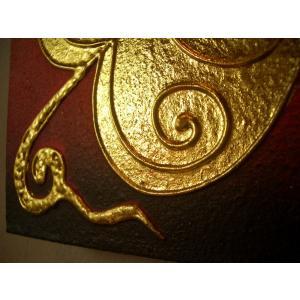 アジアンアート 【ペイントアートフレーム】タイオリエンタルモダン絵画  壁掛け ホテル サロン リゾート |store-monsoon|05