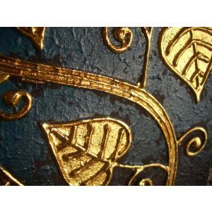 アジアンアート 【ペイントアートフレーム】タイオリエンタルモダン絵画  壁掛け ホテル サロン リゾート |store-monsoon|03