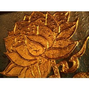 アジアンアート 【ペイントアートフレーム】タイオリエンタルモダン絵画  壁掛け ホテル サロン リゾート |store-monsoon|02