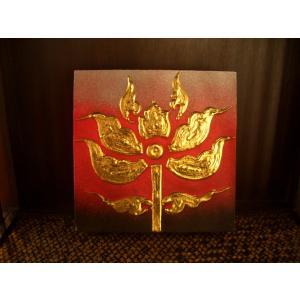 アジアンアート ペイントアートフレーム 象 タイオリエンタルモダン絵画  壁掛け ホテル サロン リゾート |store-monsoon