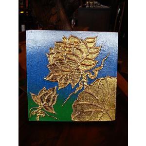 絵画 アジアンアート アートフレーム タイ オリエンタルモダン絵画  壁飾り リゾート |store-monsoon|02
