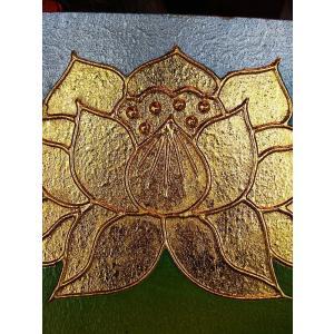 絵画 アジアンアート アートフレーム タイ オリエンタルモダン絵画  壁飾り リゾート |store-monsoon|03