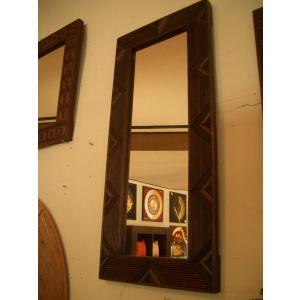 アジアン雑貨 鏡  ミラー 木製  アジアンインテリア|store-monsoon