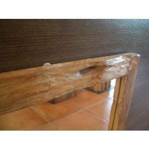 鏡  ミラー 天然木 木製 無垢 壁掛け  アジアンインテリア アジアン雑貨|store-monsoon|02