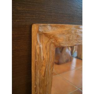 鏡  ミラー 天然木 木製 無垢 壁掛け  アジアンインテリア アジアン雑貨|store-monsoon|03