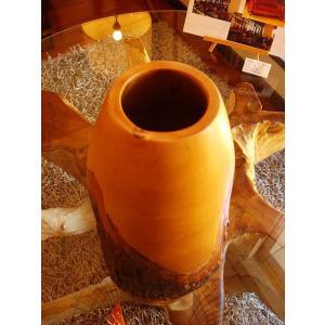 木製花瓶 木製花器 アジアン雑貨 マンゴーウッド花器 オブジェ フラワーベース アジアンインテリア  |store-monsoon|02