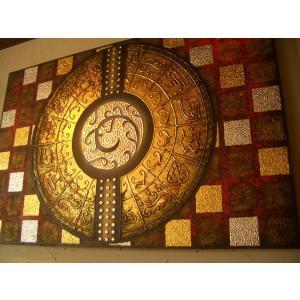 モダンアート アジアンアート アートフレーム 120×80 オリエンタルモダン絵画 リゾート ホテル|store-monsoon