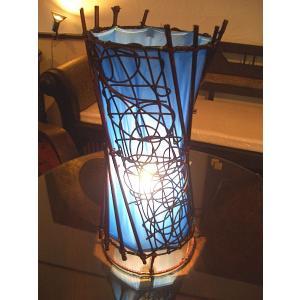 アジアンインテリア アジアン雑貨 エスニックインテリア 【アジアン テーブル ランプ 43cm】|store-monsoon