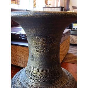アジアンオブジェ  タイ  壺  H64 陶器 焼き物 花器 花瓶 ツボ 玄関 インテリア|store-monsoon|04
