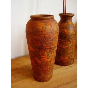 アジアンインテリア アジアンオブジェ H30 【タイ ・ ジャー(壺) 】陶器 焼き物 花器 花瓶|store-monsoon