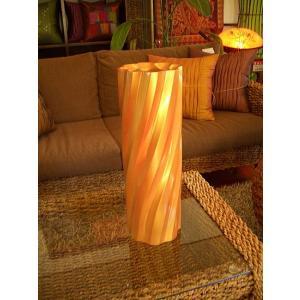 アジアンオブジェ  木製花瓶 花器 フラワーベース マンゴーウッドベース H38  |store-monsoon