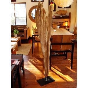 古木オブジェ 大型 (H150) タイオブジェ 置物 アジアンインテリア 木製 流木 アンティーク オールドウッド 店舗  |store-monsoon