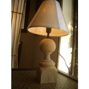 テーブルライト 古木照明 古木ライト 北欧 ナチュラル カントリー 無垢 インテリア  チーク  間接照明|store-monsoon