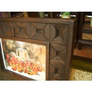 木製フォトフレーム 木製写真立て アジアン雑貨 store-monsoon 02