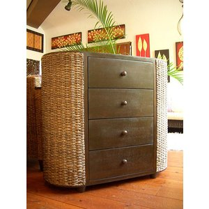チェスト アジアン家具  ウォーターヒヤシンス サイドボード チーク家具|store-monsoon