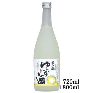 ゆず酒 720ml (日本酒)【東北、北海道、沖縄への配送は追加送料が発生する場合があります。必ず商品情報をご確認ください。】|store-naratv