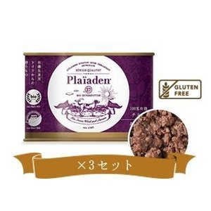 Plaiaden(プレイアーデン) 100%有機 チキン 缶 200g×3個 【対象】全犬種用、高級総合栄養食 store-usk