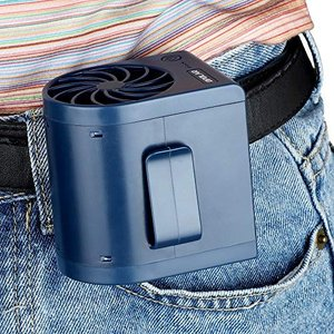 OPOLAR充電式爽快ジェットファン ベルトファン ミニ扇風機 2500mAh充電電池内蔵 急速充電...