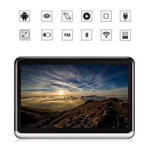 Amaco Android6.0 ヘッドレストモニター 10.1インチDVDプレーヤー 車載モニター...