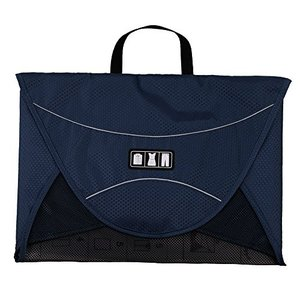 バッグスマートBAGSMART ワイシャツケース 17インチ ブルー