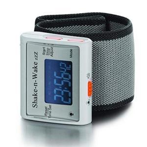 改良版・サイレントバイブレーション 振動式目覚まし時計 シェイクン・ウェイク 消音アラーム腕時計