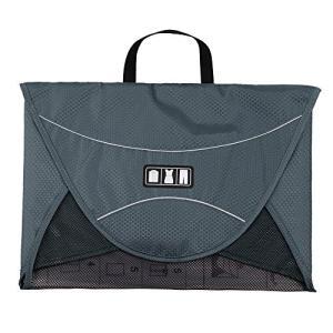 バッグスマートBAGSMART ワイシャツケース 17インチ グレー