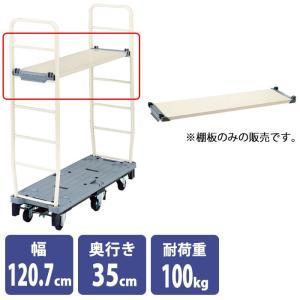 6輪ストックカート用 棚板 耐荷重100kg カートラック 台車|storeplan