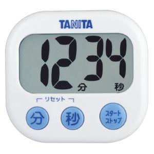 【メール便対応商品】TD-384-WH(ホワイト):でか見えタイマー @タニタ storesupply-shouten