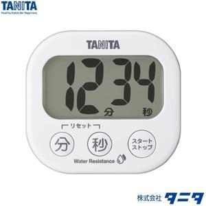 【メール便対応商品】TD-426-WH(ホワイト):洗えるでか見えタイマー @タニタ storesupply-shouten