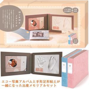 手作りアルバム絵本 10ツキ10カ メモリアル ピンク 出産の記録 祝い 誕生 手形足形 マタニティ...