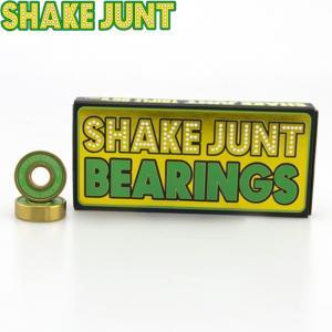 SHAKEJUNT TRIPLE O.G.'S SKATEBOARD BEARINGS(ABEC 7)(8 PACK)(シェイクジャント スケートボード スケボー ベアリング 1セット/8個入り)17f|stormy-japan