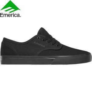 EMERICA WINO STANDARD SKATEBOARD SHOES BLACK BLACK BLACK エメリカ スケートボード スケボー シューズ スニーカー ワイノ スタンダード ブラック 19s|stormy-japan