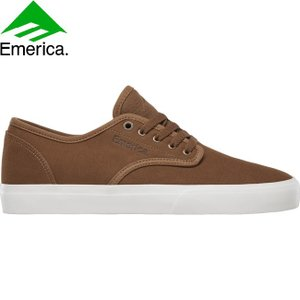 EMERICA WINO STANDARD VICTOR ACEVES SKATEBOARD SHOES TAN WHITE エメリカ スケートボード スケボー シューズ スニーカー ワイノ スタンダード 19s|stormy-japan