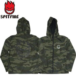 SPITFIRE BIGHEAD DOUBLE HOODED LIGHTWEIGHT JACKET F.CAMOWHITE スピットファイヤー ビッグヘッド フード ジップ ジャケット カモホワイト 18h|stormy-japan