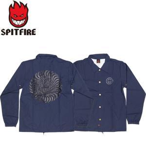 SPITFIRE CLASSIC SWIRL COACHES JACKET NAVY スピットファイヤー コーチジャケット ネイビー 17h|stormy-japan