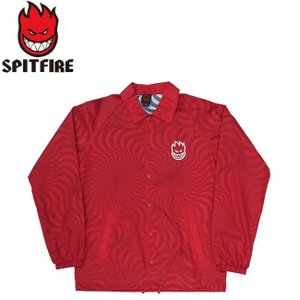SPITFIRE LIL BIGHEAD SWIRL COACHES JACKET RED スピットファイヤー ビッグヘッド コーチジャケット レッド 19s|stormy-japan