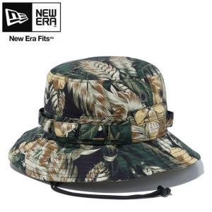 NEW ERA Adventure Botanical Hat 12326135 BlackYellowBotanical ニューエラ アドベンチャー ボタニカル ハット 帽子 ブラックイエローボタニカル 20su|stormy-japan