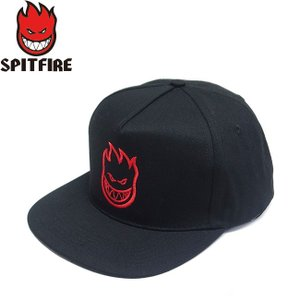 SPITFIRE BIGHEAD SNAPBACK CAP BLACK スピットファイヤー ビッグヘッド スナップバック キャップ 帽子 ブラック 19m|stormy-japan